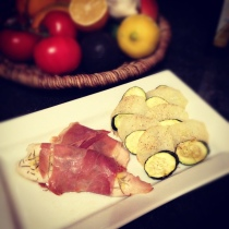 Tilapia with Prosciutto