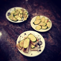 Zucchini snacks