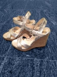 Michael Kors Viola Espadrille Sandal in Silver
