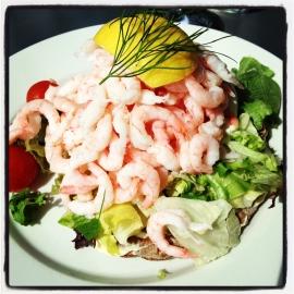 Swedish Shrimp Sandwich
