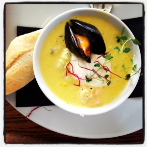 Tullhuset Seafood Soup