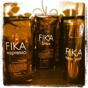 FIKA NYC coffee