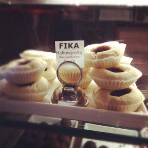 FIKA NYC Raspberry tart