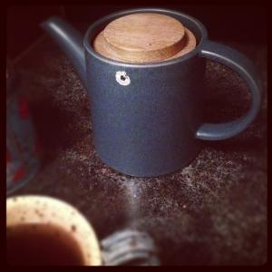 Höganäs teapot from my sister