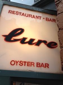 Lure Sushi & Oyster Bar SoHo