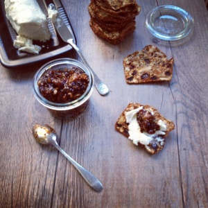 Chèvre with fig marmalade