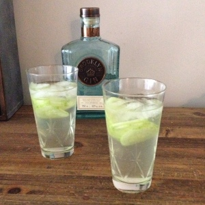 Gin and Cucumber soda