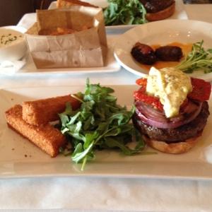 Provencal Lamb Burger